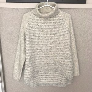 LINE Turtleneck Sweater